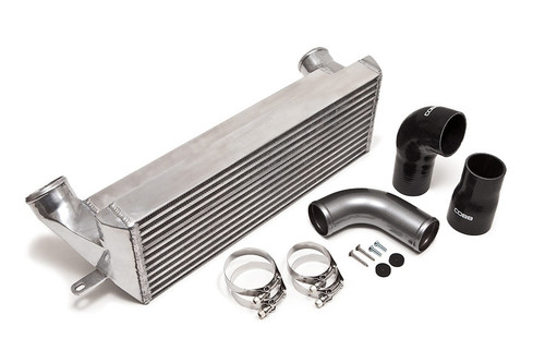 The COBB FMIC is a direct replacement improvement and the easiest modification to make for a drastic increase in cooling and power. Includes everything needed to install and requires no bumper modifications.