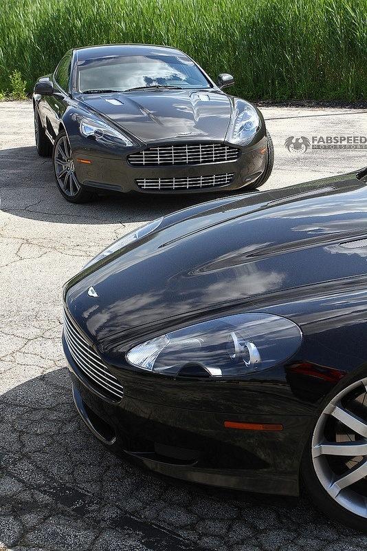 Aston Martin Rapide and DB09