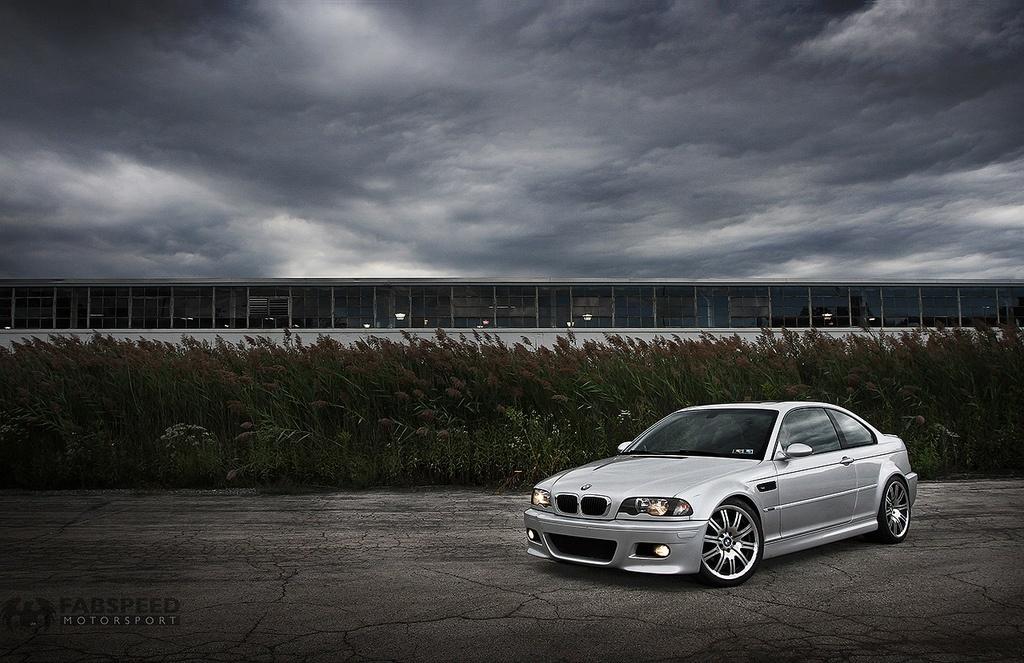 Silver BMW M3