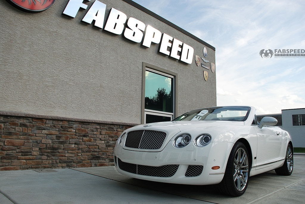 Bentley Continental GTC at Fabspeed Headquarters