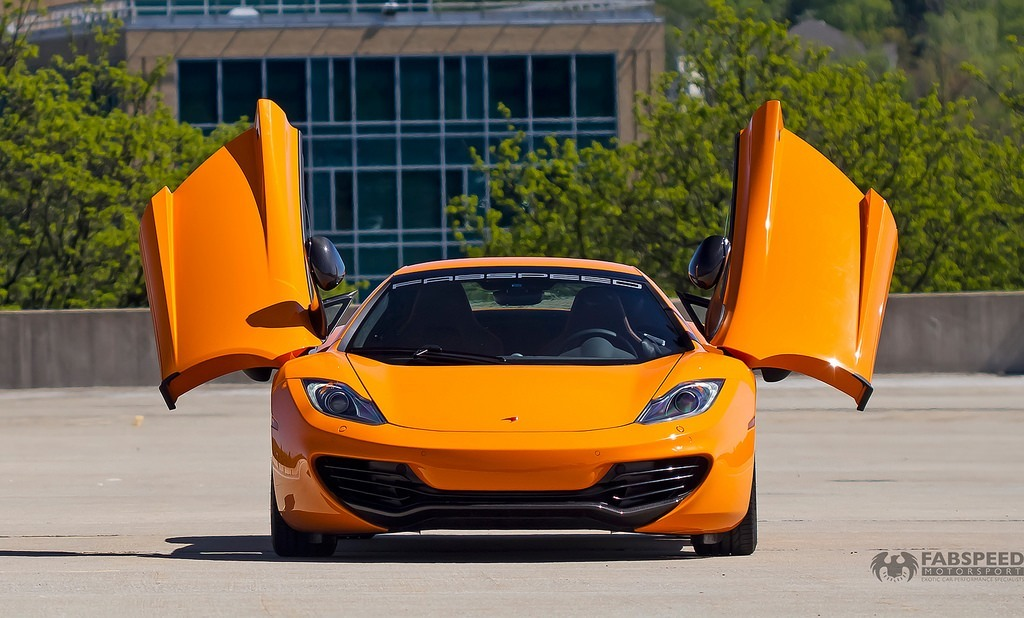 McLaren MP4-12C Open Doors