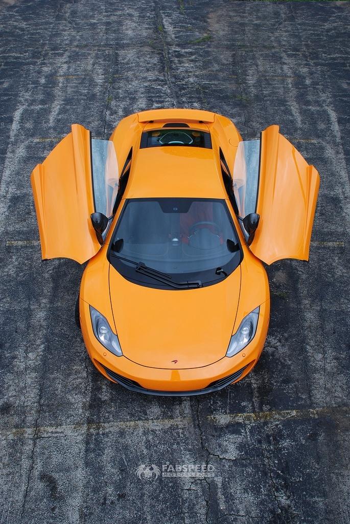 McLaren MP4-12C Top
