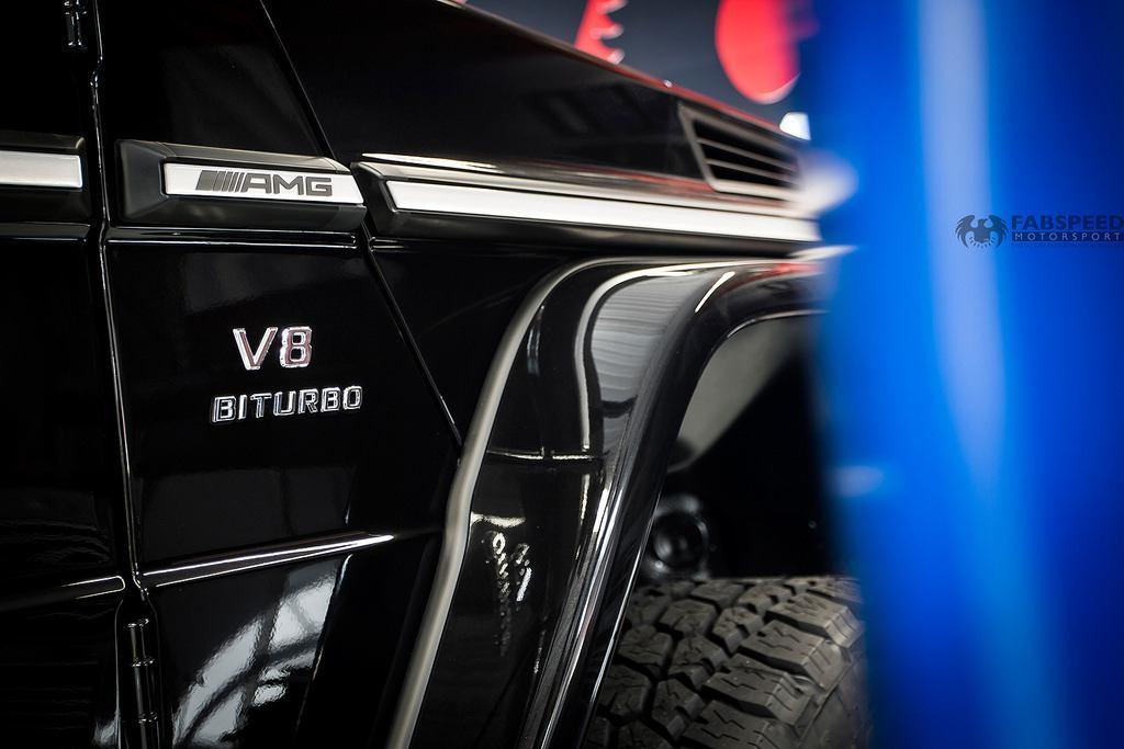 Mercedes G Series V8