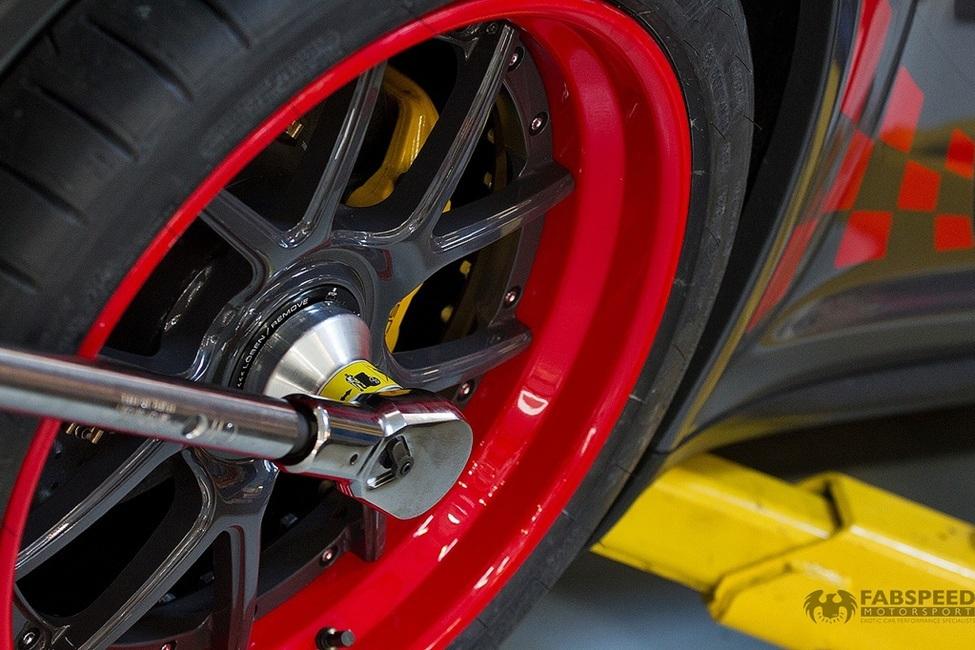Porsche 997.2 GT3RS Wheel
