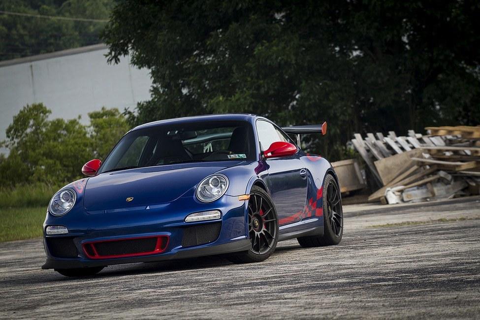 Porsche GT3 RS 3.8 front angle closer