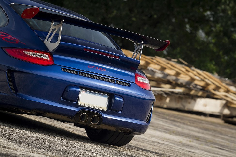 Porsche GT3 RS 3.8 rear end