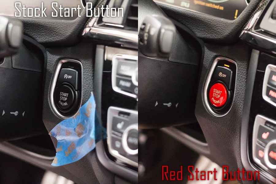 Red start stop engine button for bmw 234567 series f chassis red start stop engine button for bmw 234567 series f chassis w auto start stop function fandeluxe Gallery