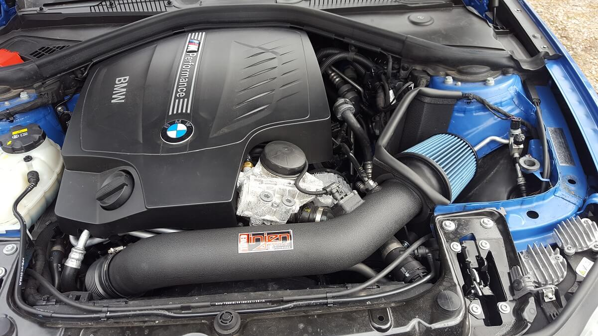 Injen Short Ram Intake for BMW F22 / F30 M235i / 335i ...