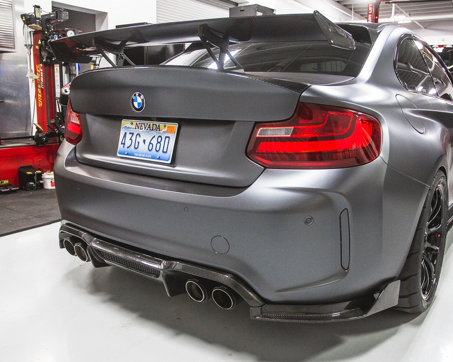 Agency power carbon fiber double sided csl style trunk f22 2 series bmw m2 carbon 24g fandeluxe Gallery