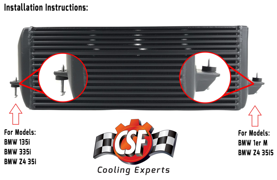 CSF Intercooler for E Chassis N54 & N55 ***NEW PRODUCT