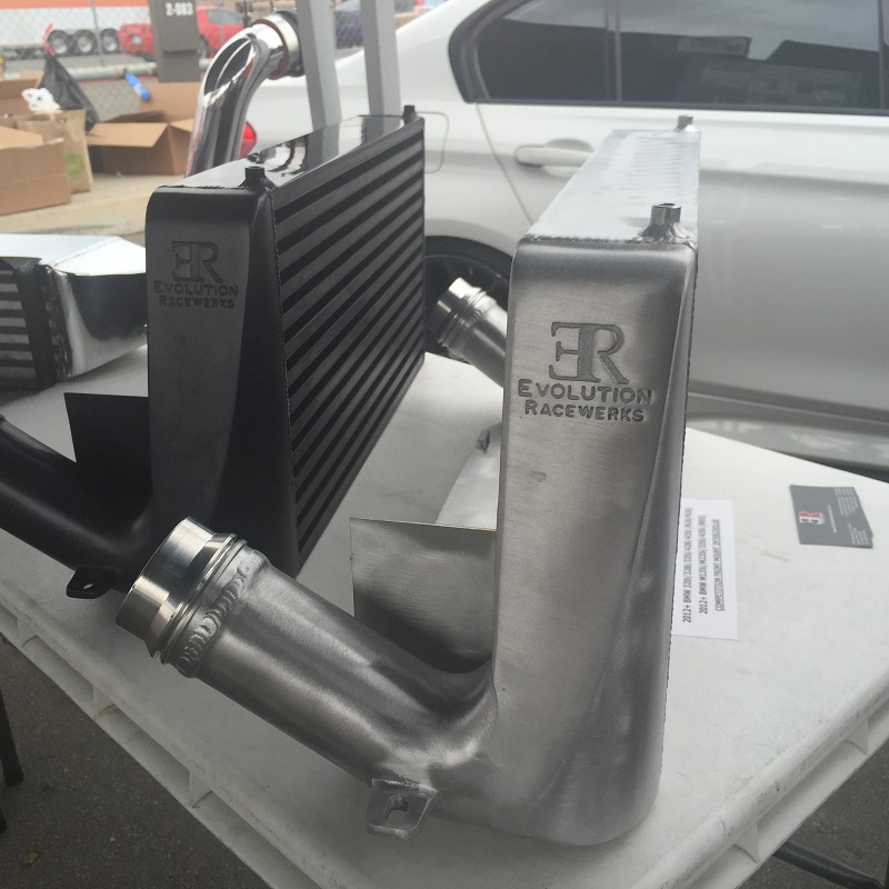 Evolution Racewerks Competition Series Front Mount Intercooler F Chassis  (Combo Deal)