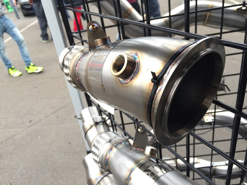 Evolution Raceweks N20 catted and catless downpipes. ER N20 DP fits 228, 328 and 428