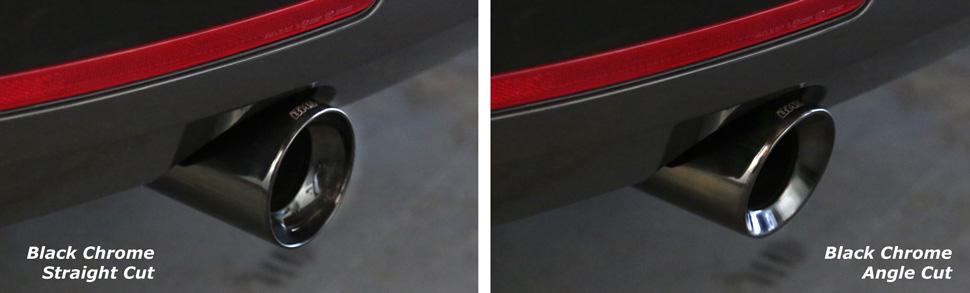 Burger Tuning N55 Exhaust Tips - Chrome, Black Chrome
