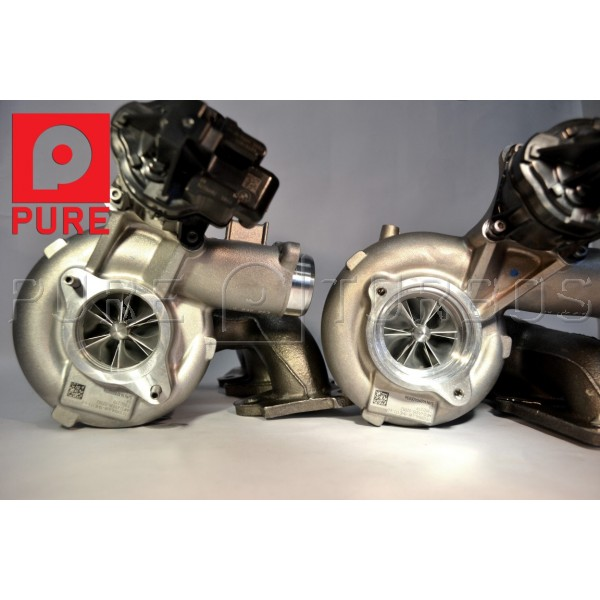 Used Turbo Bmw For Sale: Pure Turbos BMW M3/M4 S55 PURE Stage 2 Upgrade Turbos