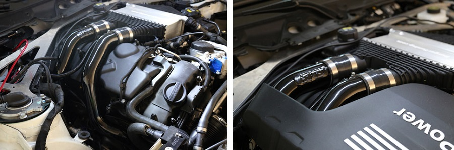 Burger Tuning (BMS) BMW S55 M3/M4 Charge Pipes