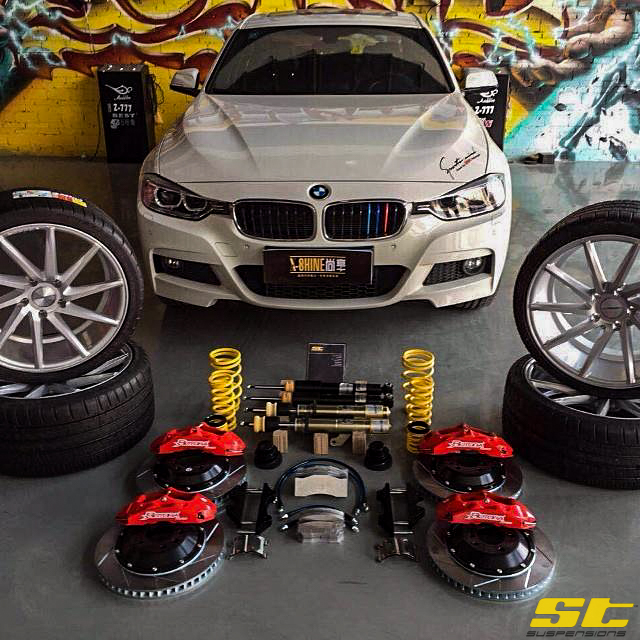 Suspensions st x coilovers bmw f30 and f32 chassis fits 328335 st suspensions st x coilovers bmw f30 and f32 chassis fits 328335 428 and 435 models coupe fandeluxe Gallery