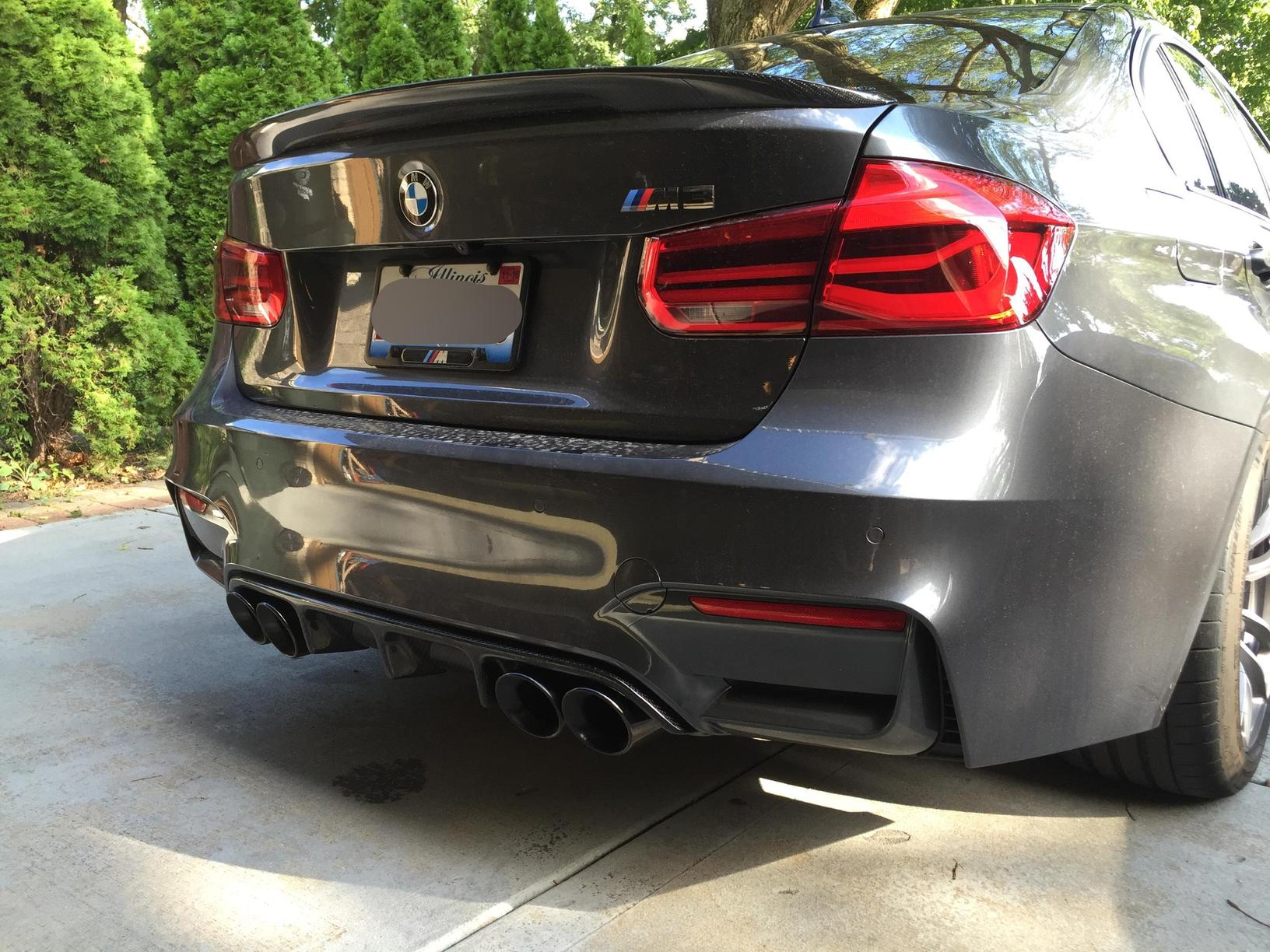 Exhaust Tips For Black F82 Bmw M3 And Bmw M4 Forum