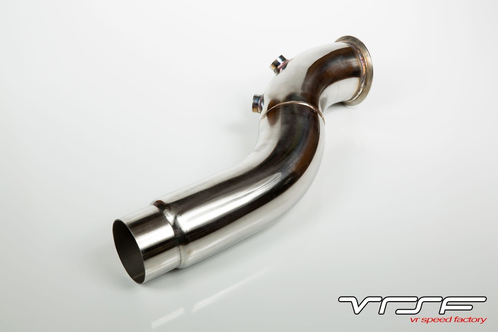 Vrsf 35 stainless steel catless downpipe for f10f11f07 535ixi vrsf n55 f10 dpg fandeluxe Gallery