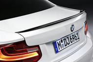 BMW M PERFORMANCE CARBON FIBER REAR SPOILER 2 Series