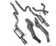 JBA 3 in. Power Pack Off-Road Full Exhaust System - Natural (11-14 GT)
