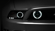 Raxiom Chrome Fog Lights - CCFL Halo (13-14 GT) - PAIR