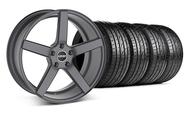 MMD 551C Charcoal Wheel & Sumitomo Tire Kit - 19x8.5 (05-14 All)