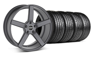 MMD 551C Charcoal Wheel & Tire - 20x8.5 (05-14 All)