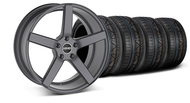 MMD Staggered 551C Charcoal Wheel & Tire  - 20x8.5/10 (05-14 All)