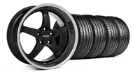 MMD Kage Black Wheel & Tire - 19x8.5 (05-14 GT,V6)