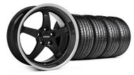 MMD Kage Black Wheel & Tire - 19x8.5 (05-14 GT,V6)