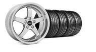 MMD Kage Polished Wheel & Tire - 18x9 (05-14 V6; 05-10 GT)