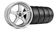 MMD Kage Polished Wheel & Tire - 19x8.5 (05-14 GT,V6)