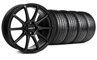 MMD Staggered Axim Gloss Black Wheel & Tire- 19x8.5/10 (05-14 All)