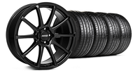 MMD Staggered Axim Gloss Black Wheel &  Tire - 20x8.5/10 (05-14 All)