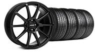 MMD Staggered Axim Gloss Black Wheel &  Tire - 20x8.5/10 (05-14 All)