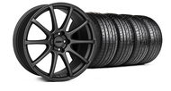 MMD Staggered Axim Charcoal Wheel & Tire - 19x8.5/10 (05-14 All)
