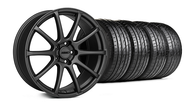 MMD Staggered Axim Charcoal Wheel & Tire - 20x8.5/10 (05-14 All)