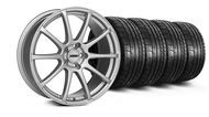 MMD Axim Silver Wheel & Tire - 20x8.5 (05-14 All)