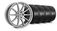 MMD Axim Silver Wheel & Tire - 20x8.5 (05-14 All)