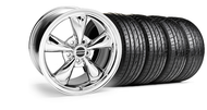 Bullitt Chrome Wheel & Sumitomo Tire Kit - 17x8 (05-14 V6; 05-10 GT)
