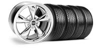 Bullitt Chrome Wheel & Tire - 18x8 (05-14 GT, V6)