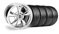 Bullitt Chrome Wheel &  Tire- 18x9 (05-14 GT, V6)