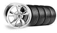 Bullitt Chrome Wheel &  Tire- 18x9 (05-14 GT, V6)