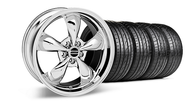Bullitt Chrome Wheel &  Tire- 19x8.5 (05-14 GT, V6)