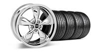 Bullitt Chrome Wheel &  Tire- 19x8.5 (05-14 GT, V6)