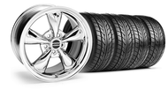 Bullitt Chrome Wheel & Tire - 20x8.5 (05-14 V6; 05-10 GT)