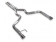 Stainless Works 3 in Retro Chambered Catback Exhaust w/ H-Pipe (2015 GT)