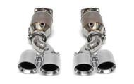 Fabspeed Porsche 997 Turbo Muffler Bypass Exhaust System