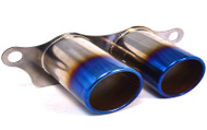 AGENCY POWER TITANIUM EXHAUST BURNT TIPS PORSCHE 997 GT3 GT3RS 07-12