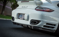 AGENCY POWER CARBON FIBER STRAKE DIFFUSER PORSCHE 997 TURBO 07-12